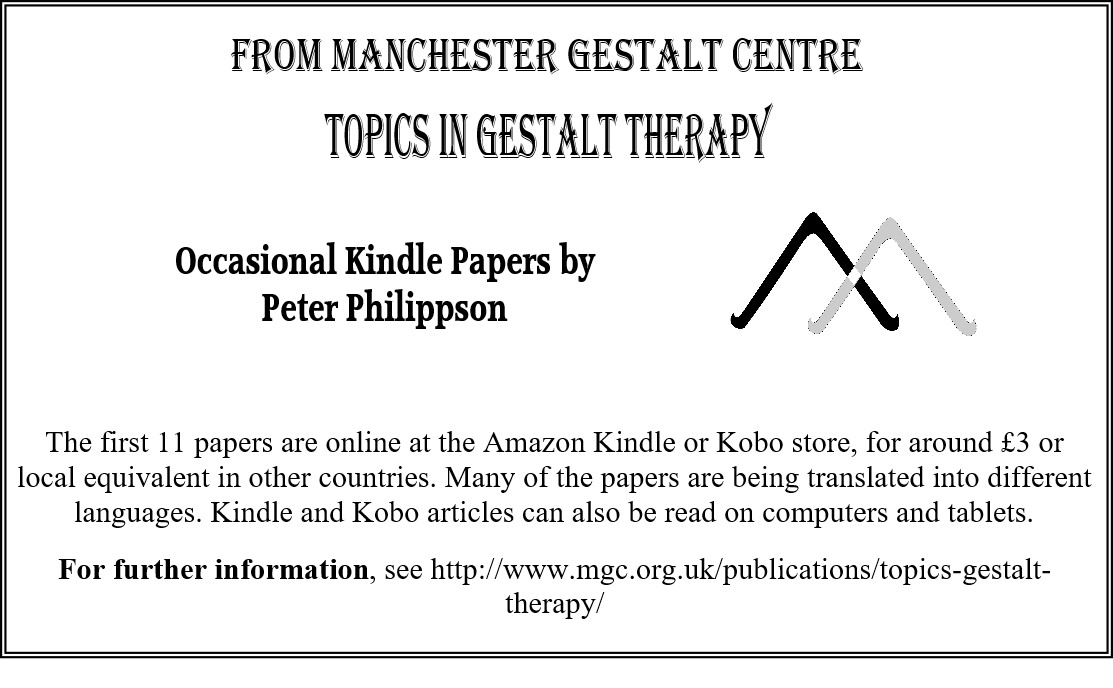 Topics in Gestalt Therapy