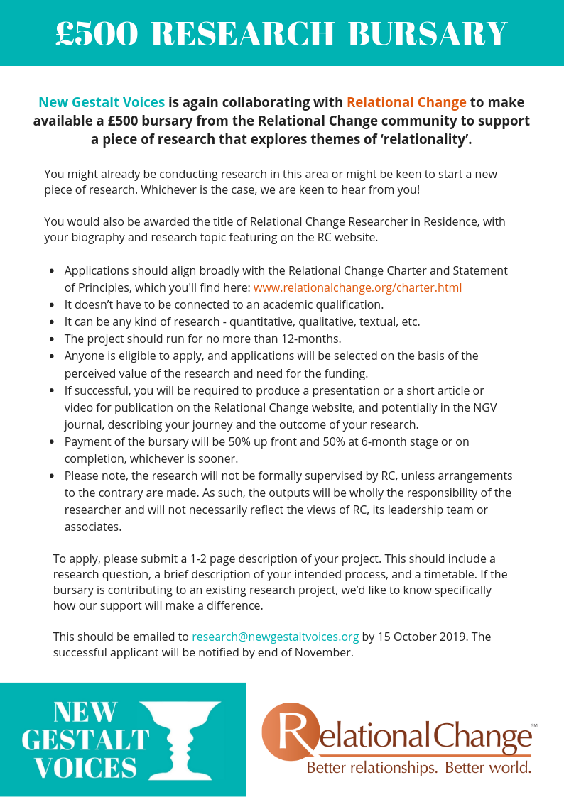 RC research bursary 2020