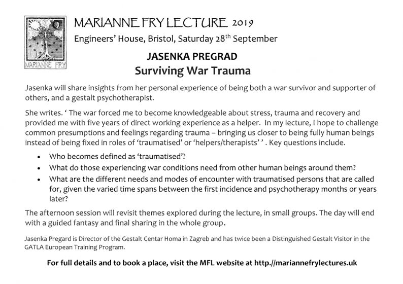 Marianne Fry Lectures